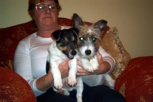 Rosie & Sam with Irene 2003
